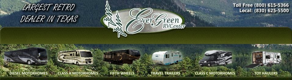 Evergreen RV - Consignment RV Sales in Texas Class A Diesel Motor